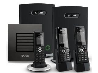 Бесшовная DECT IP-телефония на оборудовании Snom